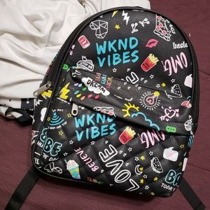 Claire's mini backpack